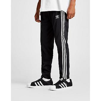 New adidas Originals Men's Beckenbauer Cuffed Track Pants Black