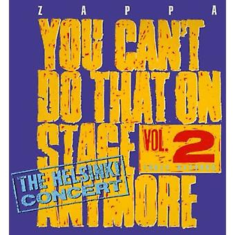 Frank Zappa - Frank Zappa: Vol. 2-You Can't Do That on Stage Anymore [CD] USA import