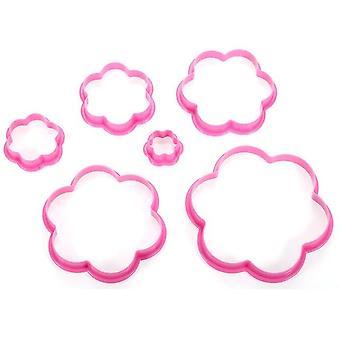 6ks / set Multi Štýl Cake Cookie Sušienky fréza - Pečiatka forma používa pre potraviny triedy pečenie pečivo
