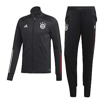 2020-2021 Bayern München Tréningruha (fekete)