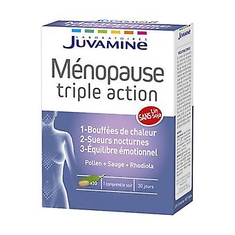 Menopauze - Triple Action 30 tabletten
