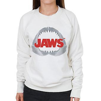 Jaws Teeth Logo Women's Sweatshirt