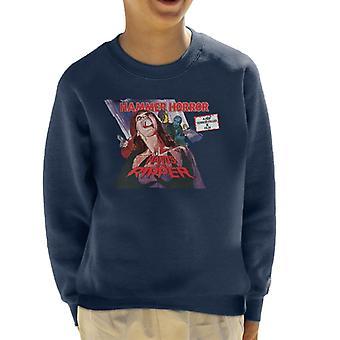 Hammer Horror Films Hands Of The Ripper Poster Kid's Sweatshirt