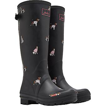 Joules Womens Welly Print Tall Length Wellington Boots