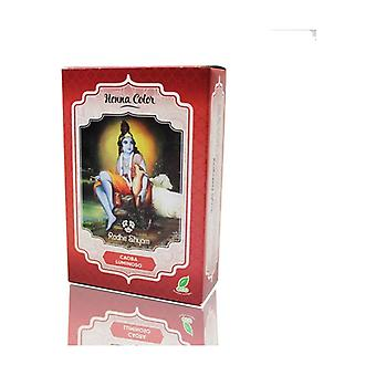 Henna Mahogany Luminous Powder 100 g of powder (Mahogany)