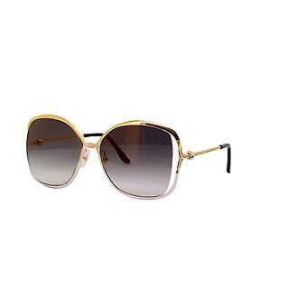 Cartier CT0225S 001 Gold/Grey Gradient Sunglasses