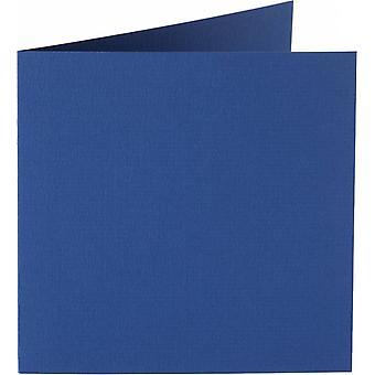 Papicolor 6X Tarjeta Doble 132X132mm Iris-Azul
