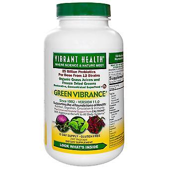Vibrant Health, Green Vibrance, Version 17.0, 240 VegiCaps