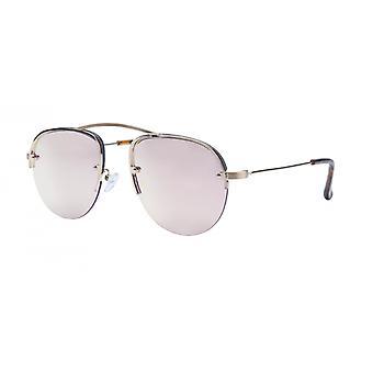النظارات الشمسية Unisex Cat.3 الذهب / الأحمر (aml19012b)
