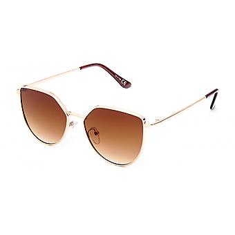 Sunglasses Unisex modern brown/gold