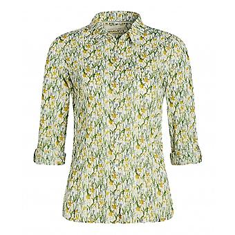 Seasalt Larissa Shirt (spring Border Dill)