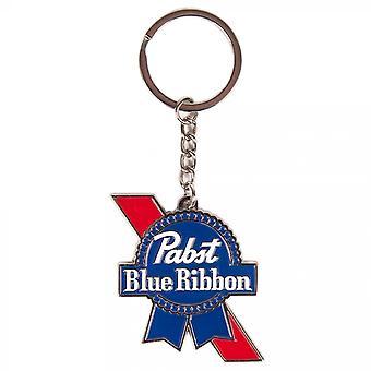 Pabst blau Band Bier Metall Band Schlüsselanhänger