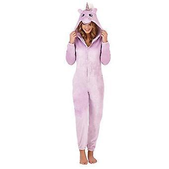 Ladies Novelty Sparkle Unicorn Onesie
