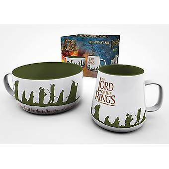 Lord of the Rings Fellowship Ontbijtset