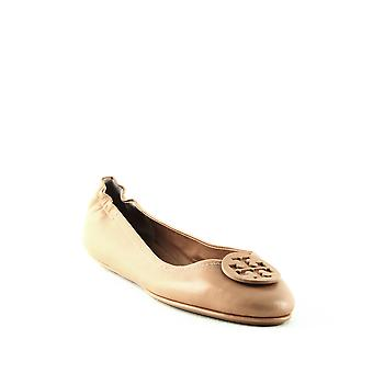 Tory Burch | Minnie Travel Leather Ballet Flats