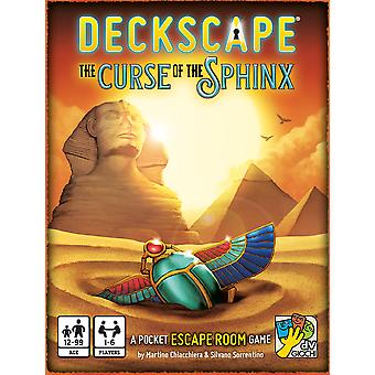 Deckscape - The Curse of The Sphinx Card Game