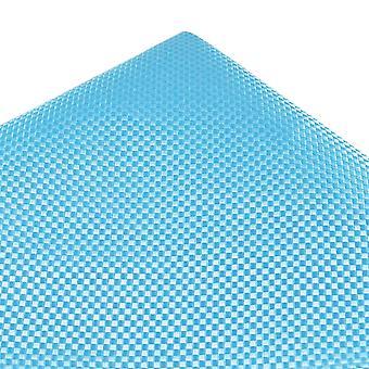 Ties Planet Tresanti Sky Blue Micro Kockás Selyem Pocket Square zsebkendő