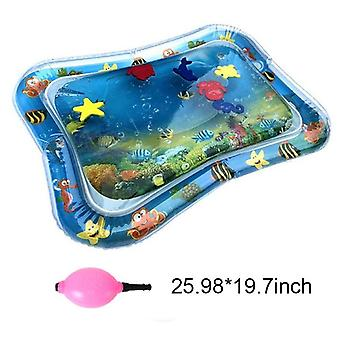 Soft Cushion, Inflatable Water Pad Play Mat Toy For Toddler  (pad With Pump)