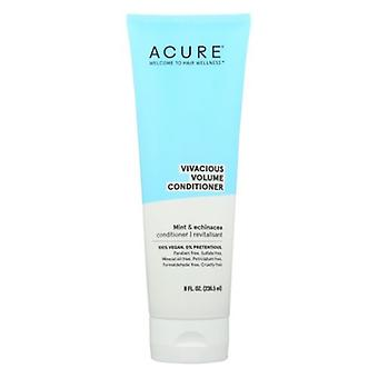 Acure Vivacious Volumizing Conditioner, Peppermint 8 Oz