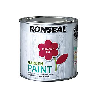 Ronseal Garden Paint Moroccan Red 250ml RSLGPMR250