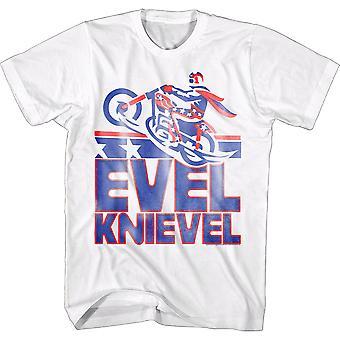 Evel Knievel Motorcycle Jump T-Shirt