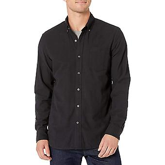 Marke - Goodthreads Men's Standard-Fit Langarm Oxford Shirt w / Poc...