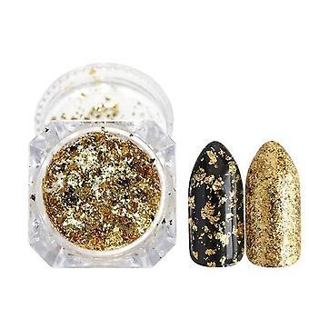 Glitter nauloille Holografinen dip-jauhe - Peilikiillotus kromipigmentit