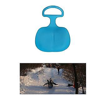 Kids Ski Board Sled Winter Outdoor Sport, New Plastic Board Sand Grass Sled Ski