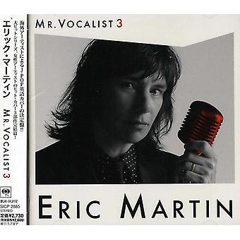 Eric Martin - Mr Vocalist 3 [CD] USA import