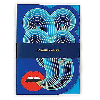 Jonathan Adler Lips A5 Journal