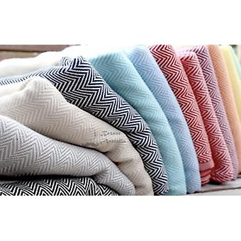 Organic Cotton Peshtemal Kitchen Hand Towels