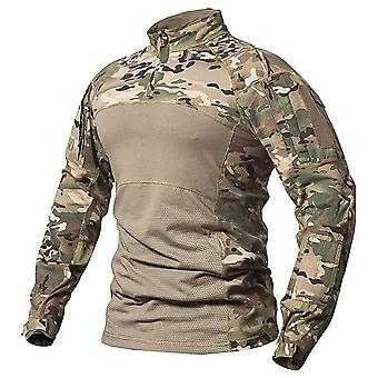 Sinairsoft Men's Tactical Military Combat Shirt Breathable Cotton Army Assault