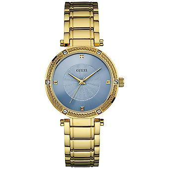 Guess U0695L2 Dressy Gold-Tone Ladies Watch