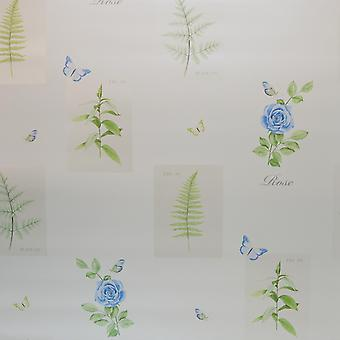 Galerie Botanical Rose Blue