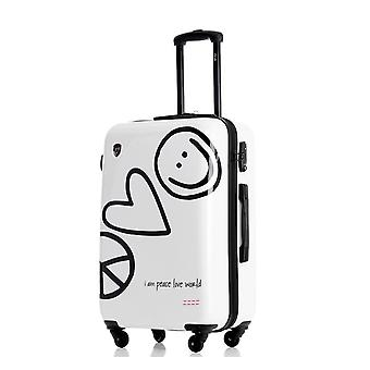 Fashion Brand Luggage Trolley Suitcase Creative Boarding Password Rolling