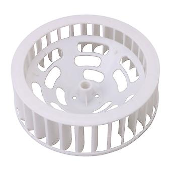Fan Wheel Blower Wheel for 30 Short Axis Motor Part Air Bathroom White
