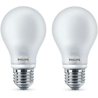 Philips LED classic Bulb Twin Pack 4.5W (Equivalente a 40W) blanco cálido (2700K)
