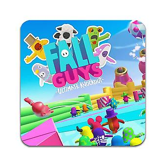 2 ST Fall Guys Ultimate Knockout Coasters