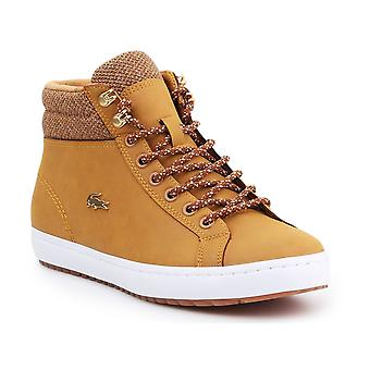 Lacoste Straightset Insulatec Caw Tan 736CAW0045355 universal all year women shoes
