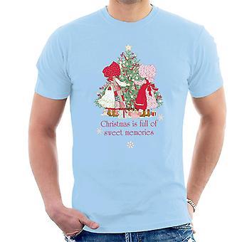 Holly Hobbie Jul Sweet Memories Män's T-Shirt