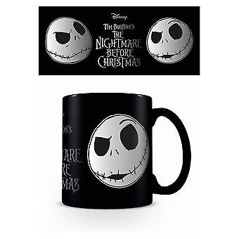 Nightmare Before Christmas Foil Jack Skellington Mug