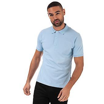 Men's Henri Lloyd Summer Stretch Piquet Polo Shirt in Blue