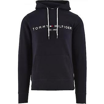Tommy Hilfiger Navy Core Tommy Logo Hoody