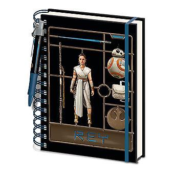 Star Wars: The Rise of Skywalker Rey A5 Wirebound Notebook Set