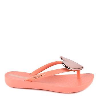 Ipanema Kid's Maxi Heart Coral Sandals