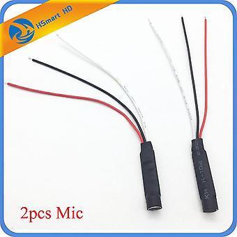 Mini Cctv Erittäin herkkä Mikrofoni Turvakamera Audio Mic Dc Virtakaapeli