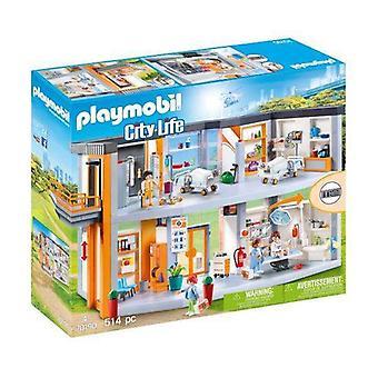 Playset City Life Grand Hôpital Playmobil 70190