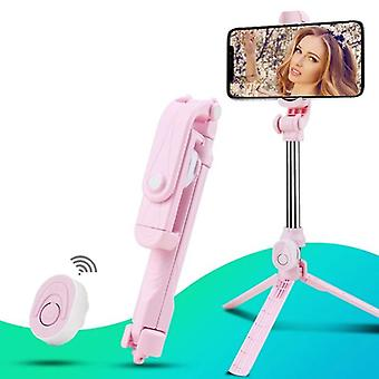 Wireless Bluetooth Selfie Stick Tripod Remote Palo Live Photo Holder Tripod