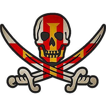 ملصق ملصقا القراصنة جاك rackham calico العلم البلد GBG غيرنسي