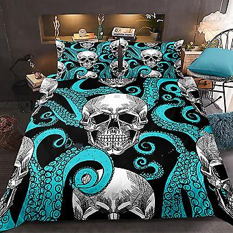 Skull Printed Bedding Set